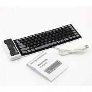 Bluetooth + USB Flexible Keyboard PC I pad Mobile