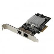 Tarjeta de Red Gigabit PCI Express con 2 RJ45, Startech ST2000SPEXI