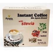 Ayura Herbal Instant Coffee Mix with stevia