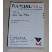 A.Menarini Ind.Farm.Riun.Srl Ranidil 75 75 Mg Compresse Rivestite 10 Compresse