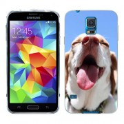 Husa Samsung Galaxy S5 Mini G800F Silicon Gel Tpu Model Funny Dog