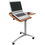 Mesa para Notebook WMT-NB407 Luxo Altura Ajustável e Reclinável MARROM