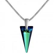 Colier cu cristale Swarovski FaBOS, Bermuda blue 7730-1401-04