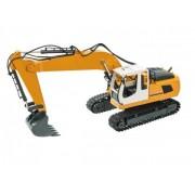 Excavator functional cu telecomanda Mondo 63508 scara 1:16 cupa functionala si cabina rotativa