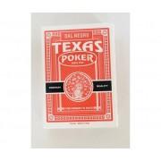 DAL NEGRO Carte Da Gioco Texas Monkey Rosso Poker -