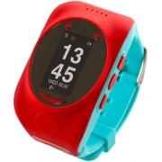 """Smartwatch MyKi Watch, Display OLED 0.96"""", Wi-Fi, 2G, dedicat pentru copii (Rosu/Albastru)"""