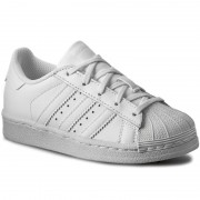 Обувки adidas - Superstar Foundation C BA8380 Ftwwht/Ftwwht/Ftwwht