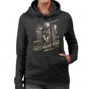 Cloud City 7 Nier Automata vikten av världen Women's Hooded Sweatshirt Svart Medium
