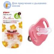 PIGEON-ЯПОНИЯ Пустышка силиконовая «Цветочек» от 6-ти мес. Step 3.