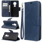 Gearbest Solid Color Lambskin PU Phone Case for Nokia 6.2 / Nokia 7.2