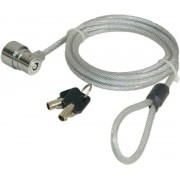 Port Designs Security CABLE KEY 1.8m Roestvrijstaal kabelslot