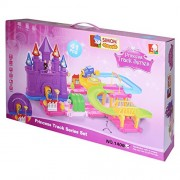 Simon 1406 Princess Track Set Toy Car , Multi Color