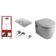 Pachet complet TECE cadru WC cu WC Connect P.P