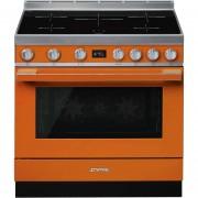 SMEG Cpf9ipor Cucina 90x60 5 Zone A Induzione Forno Elettrico Termoventilato 115