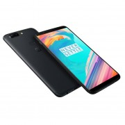 OnePlus 5T A5010 Dual Sim 4G 64GB (6GB Ram)(Libre) - Negro Medianoche