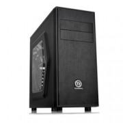 ATX/Micro ATX, Thermaltake Versa H24, прозорец, черна, без захранване