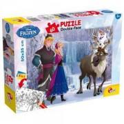 Детски двулицев Пъзел Frozen, 49295, Lisciani, 8008324049295