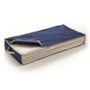 Husa depozitare textile sub pat sau dulap-BLUE