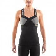 Skins DNAmic Women's Tank Top - Black/Limoncello - XS - Black/Yellow