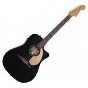 Fender Guitarra Acústica eletrificada 4/4 Sonoran SCE Thinline BK
