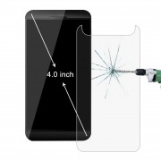 50 PCS 4.0 inch Mobile Phone 0.26mm 9H Surface Hardness 2.5D Explosion-proof Tempered Glass Film No Retail Package