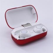 S8 Mini Sports Earphone Wireless Stereo Earbud Bluetooth 5.0 Headset with Charging Box - Red
