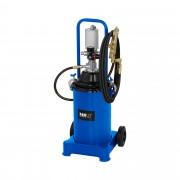 Pneumatic Grease Pump - 12 litres - portable - 300-400 bar pump pressure