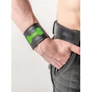 Mister B Fetch Bone Armbands Black/Neon Green 430470