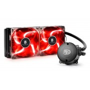 Liquid Cooling for CPU, DEEPCOOL MAELSTROM 240T, Intel/Amd, Red