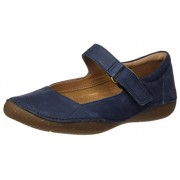 Clarks Women's Autumn Stone Blue Leather Loafers & Moccasins - 8 UK/India (42 EU)