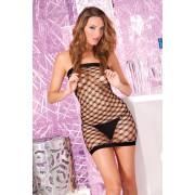 Mini mrezasta haljina sa dijamantskom mrezom PINKLIP020