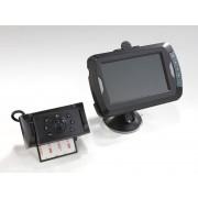 Westfalia Video-Rückfahrkamera 4,3 mit Nachtsicht LED, kabellose gesicherte digitale Übertragung