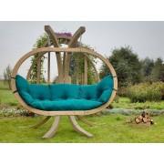Amazonas Hangstoel Tweepersoons 'Globo Royal' Green