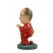 Dalai Lama Caganer by Caganer Shop | Modern Interpretation of Catalan Nativity Scene Poo FigurinePooping StatueFunny Gift, Great White Elephant Gift, Hilarious Holiday Tradition