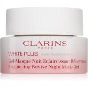 Clarins White Plus Pure Translucency Brightening Revive Night Mask-Gel White Plus Pure Translucency Brightening Revive Gel 50 ml