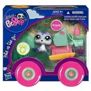 Littlest Pet Shop Pets On The Go Series 1 Seal With Catamaran
