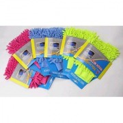 Kudos Car-Bike Cleaning Micro Fibre Glove set of 2