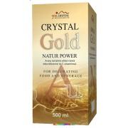 Crystal Nano Gold natur Power 500 ml - Arany oldat, kolloid - Vita Crystal