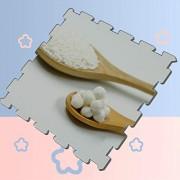 """XJIXIANG Crystal Clear Bubble Pearl Kids Puzzle Mat Mat de Espuma Grande Puzzle Floor Mat Alfombras de protección Suave, 16 Azulejos, 12""""x12 Jugar Puzzle Mat Kids"""