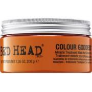 Tigi Mască revigorantă pentru părul părului colorat Zeita pentru culoarea Bed Head ( Miracle Treatment Mask) 200 g