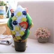 Imported And New Akira 34 cm Creative Cute Fruit Ice Cream Soft Pillow For Home Decoration