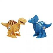 Jurassic Park Jurassic World Brawlasaurs Tyrannosaurus Rex Vs. Triceratops Figure Pack