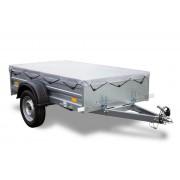 UNITRAILER Lichte aanhangwagen Garden Trailer 200 Unitrailer met vlakzeil 200 × 106 750 kg