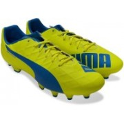 Puma evoSPEED 4.4 FG Football Shoes For Men(Yellow)