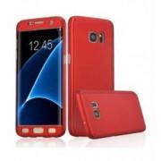 Husa Samsung Galaxy S7 Edge FullBody Elegance Luxury Red acoperire completa 360 grade cu folie de protectie gratis