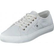 Gant 14538641 Zoe Sneaker G29 White, Skor, Sneakers & Sportskor, Låga sneakers, Vit, Dam, 41