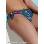 Färgglad bikinitrosa med prickigt mönster