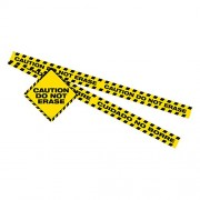 Dowling Magnets Caution Do Not Erase Magnet set