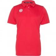 The Indian Maharadja Boy's Tech Polo Shirt IM - Red
