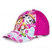 Paw Patrol Marshall en Skye kids petje/cap roze